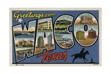 Greeting Card from Waco  Texas