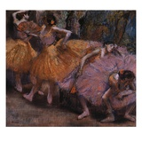 Four Ballerinas Resting
