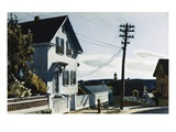 Adam's House Giclée par Edward Hopper