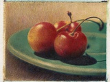 Three Rainier Cherries