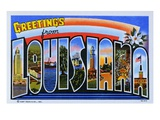 Postcard of Greetings from Louisiana