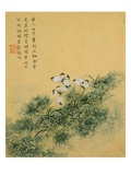 Flowers  from an Album of Ten Leaves (Butterflies)