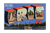 Greeting Card from Erie  Pennsylvania