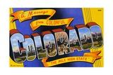 Postcard of Colorado