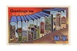 Greeting Card from Binghamton  New York