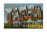 Greeting Card from Tampa  Florida