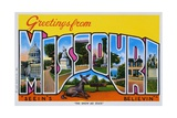 Postcard of Greetings from Missouri
