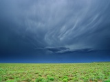 Storm Clouds Hanging over the Plains of Llano Estacado