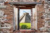 ¡Viva Mexico! Window View - Pyramid of the Chichen Itza