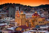 ¡Viva Mexico! Collection - Colorful City at Twilight - Guanajuato