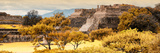¡Viva Mexico! Panoramic Collection - Pyramid of Monte Alban with Fall Colors