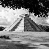 ¡Viva Mexico! Square Collection - El Castillo Pyramid - Chichen Itza I