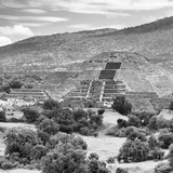 ¡Viva Mexico! Square Collection - Teotihuacan Pyramids Ruins III