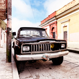 ¡Viva Mexico! Square Collection - Old Jeep in the street of San Cristobal II