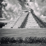 ¡Viva Mexico! Square Collection - El Castillo Pyramid - Chichen Itza IX