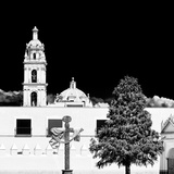 ¡Viva Mexico! Square Collection - Courtyard of a Church in Puebla III