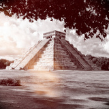 ¡Viva Mexico! Square Collection - El Castillo Pyramid in Chichen Itza X