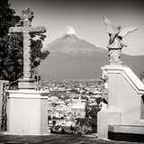 ¡Viva Mexico! Square Collection - Popocatepetl Volcano in Puebla VII