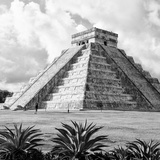 ¡Viva Mexico! Square Collection - El Castillo Pyramid - Chichen Itza VII