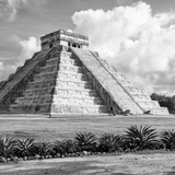 ¡Viva Mexico! Square Collection - El Castillo Pyramid in Chichen Itza VIII