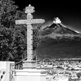 ¡Viva Mexico! Square Collection - Popocatepetl Volcano in Puebla IX
