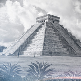 ¡Viva Mexico! Square Collection - El Castillo Pyramid - Chichen Itza IV