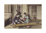 Women Playing the Koto