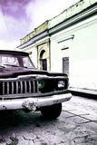 ¡Viva Mexico! Collection - Old Black Jeep and Colorful Street VI
