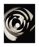 Rayograph Spiral, 1923 Reproduction d'art par Man Ray