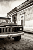 ¡Viva Mexico! Collection - Old Black Jeep and Colorful Street IV