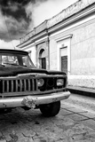 ¡Viva Mexico! Collection - Old Black Jeep and Colorful Street II