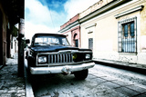 ¡Viva Mexico! Collection - Black Jeep and Colorful Street III