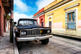 ¡Viva Mexico! Collection - Black Jeep and Colorful Street