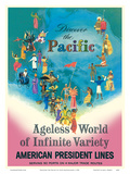 Discover the Pacific - American President Lines - Ageless World of Infinite Variety