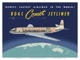 de Havilland Comet Jetliner - BOAC (British Overseas Airways Corporation)