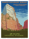 Zion National Park - Great White Throne Mountain - Ranger Naturalist Service