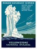 Yellowstone National Park - Old Faithful Geyser - Ranger Naturalist Service