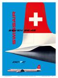 SwissAir - Seven Seas Airliner - Douglas DC-7C
