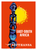 East-South Africa - Lufthansa German Airlines