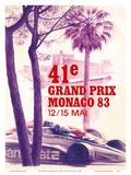 41st Monaco Grand Prix 1983 - Formula One Race Car