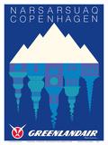 Narsarsuaq  Greenland - Copenhagen  Denmark - GreenlandAir