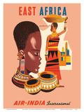 East Africa - Air India International - African Tribal Women
