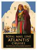 Atlantis Cruises - Royal Mail Line - The Royal Mail Steam Packet Company