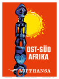 East-South Africa (Ost-Sud Afrika) - Lufthansa German Airlines