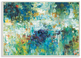 Contemporary Reflections Blue Abstract Landscape