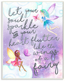 Let Your Soul Sparkle Fairies Painting