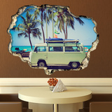 View Through the Wall - Camper Van