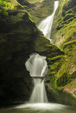 St Nectan'S Kieve, A Sixty Foot Waterfall, Saint Nectan'S Glen Papier Photo par Ross Hoddinott