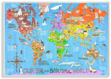 Our Big Beautiful World Map
