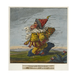 Geography Bewitched!  A Droll Caricature Map of Scotland  ca 1795